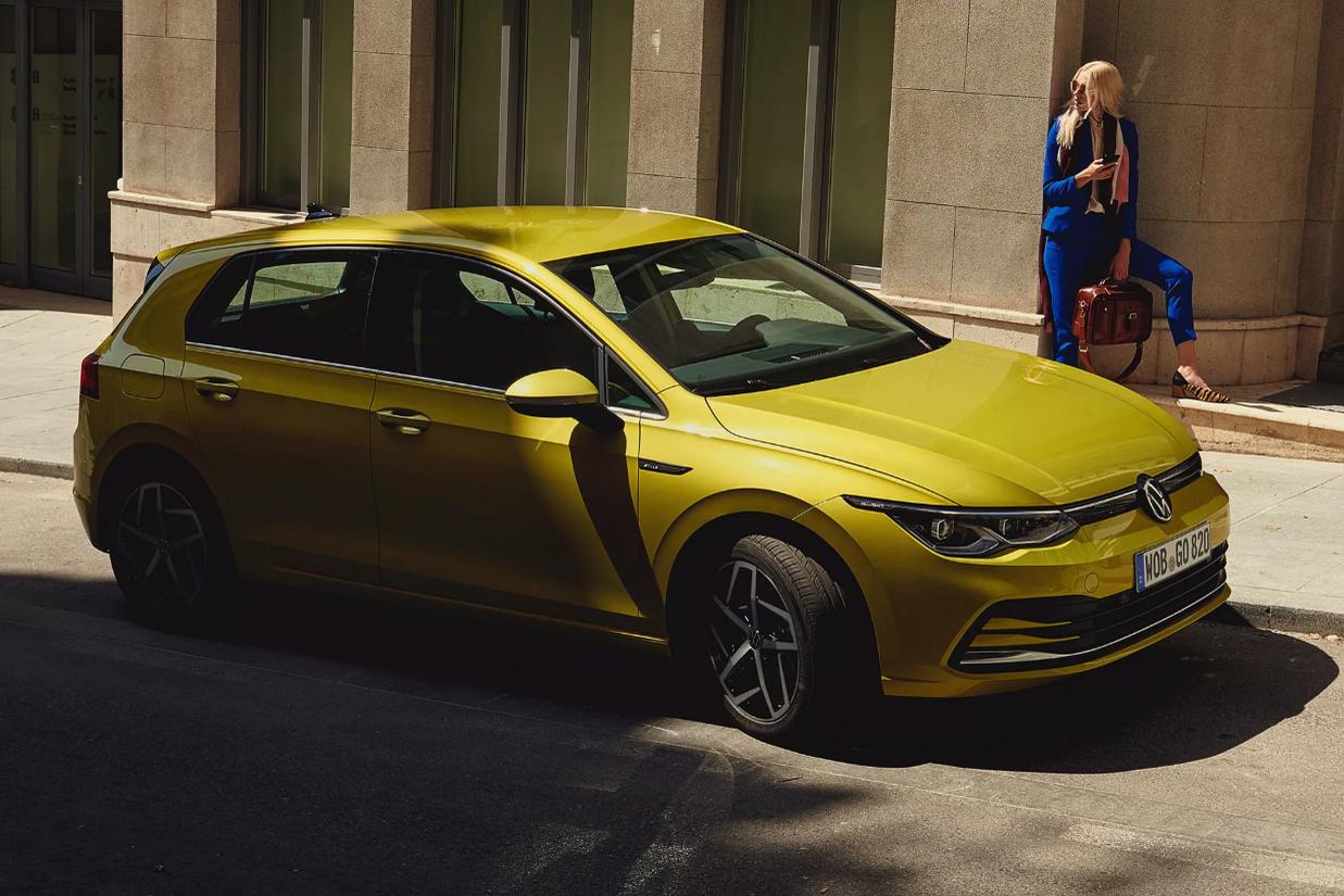 Nový Volkswagen Golf 8 - Operativní leasing včetně servisu