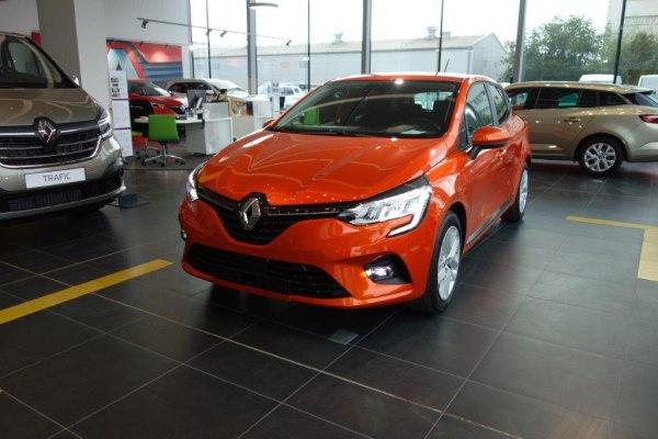 NOVÝ Renault CLIO              1,0 SCe 75k ZEN