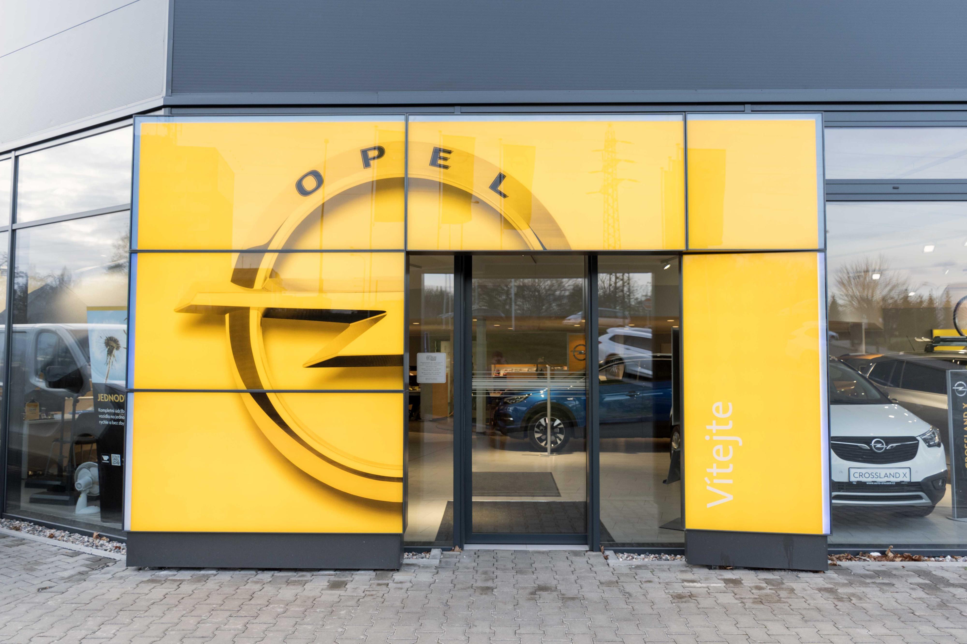 Servis vozů Opel