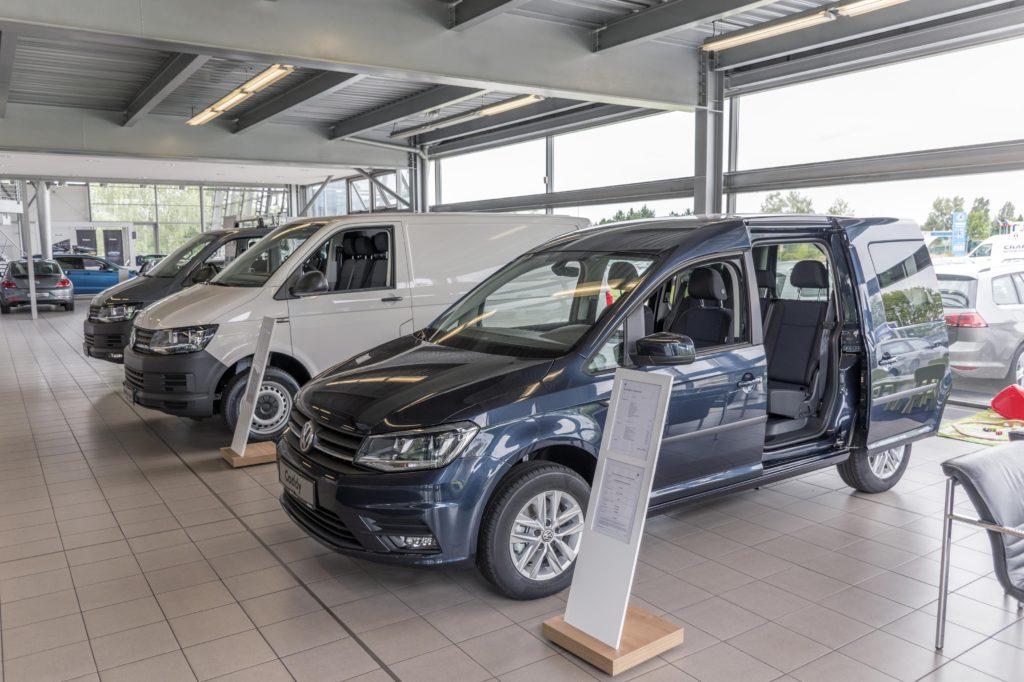 Servis užitkových vozů Volkswagen