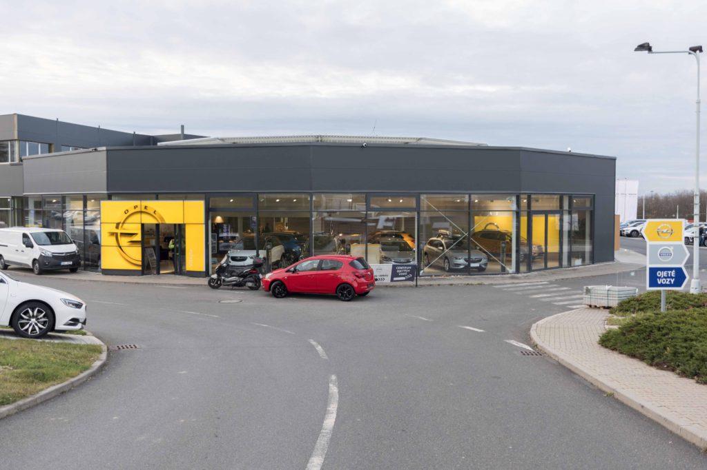 Prodej vozů Opel
