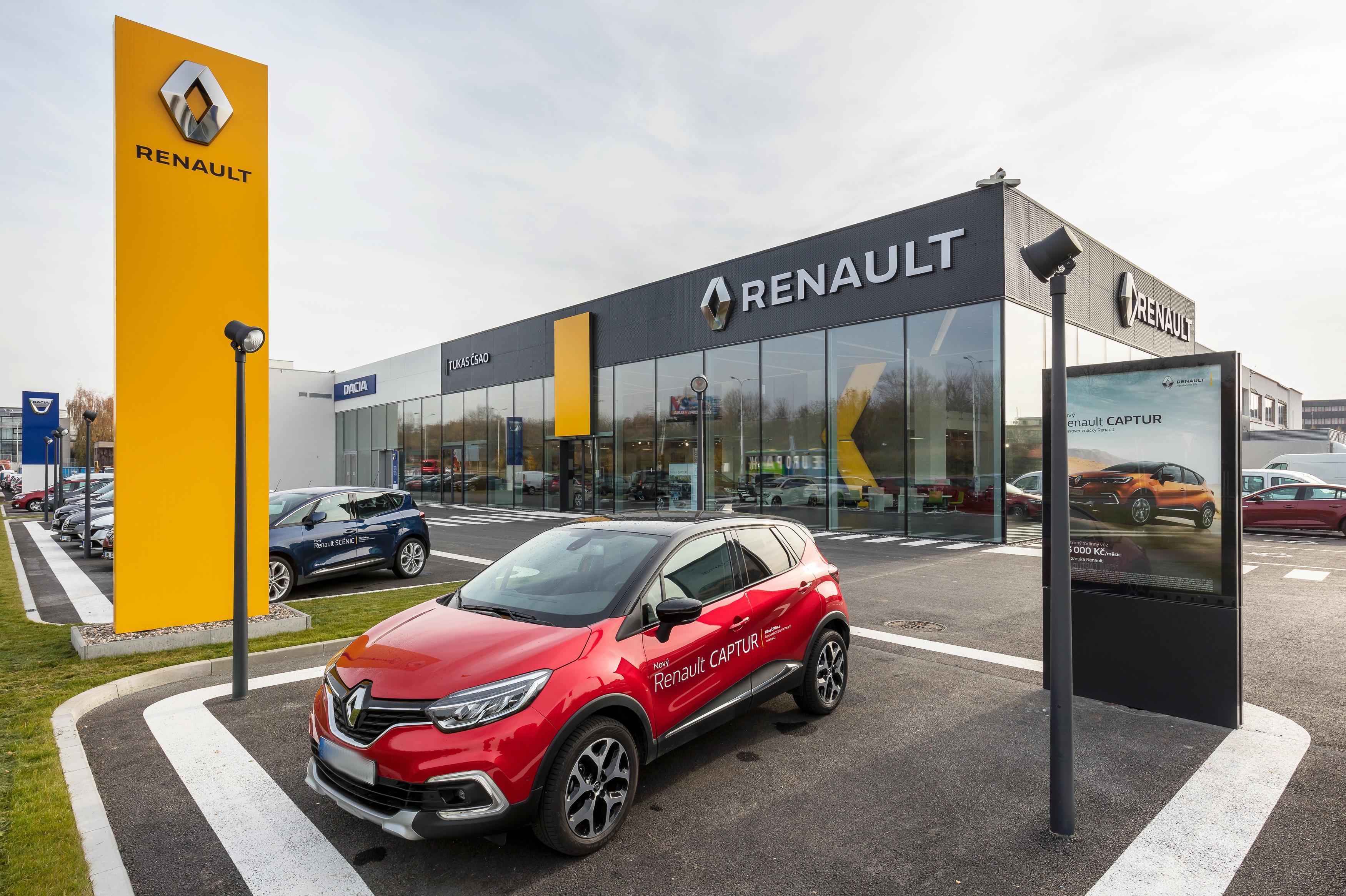 Prodej vozů Renault