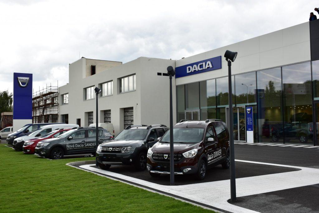 Prodej vozů Dacia