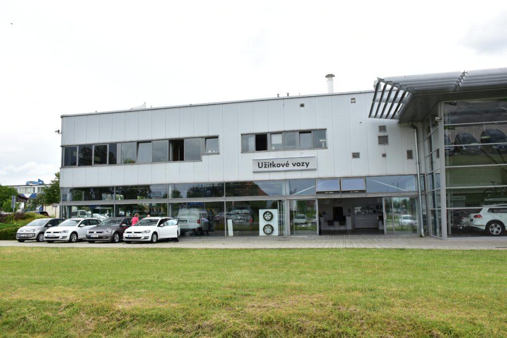 Prodej užitkových vozů Volkswagen