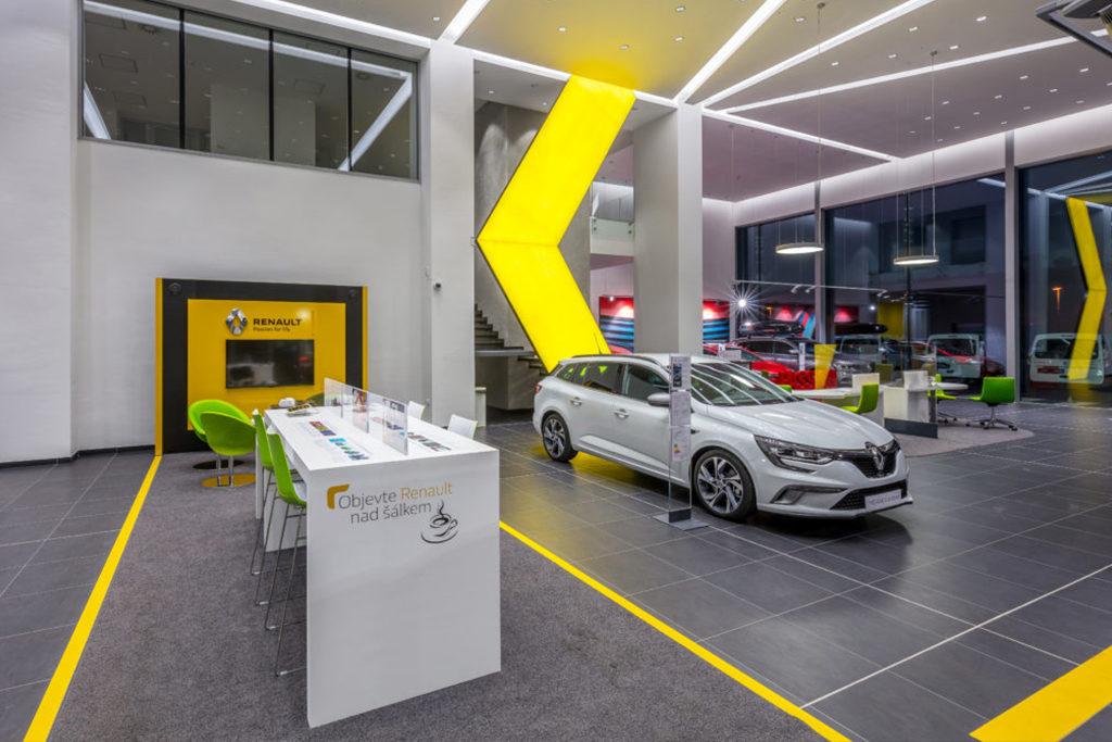 Servis vozů Renault