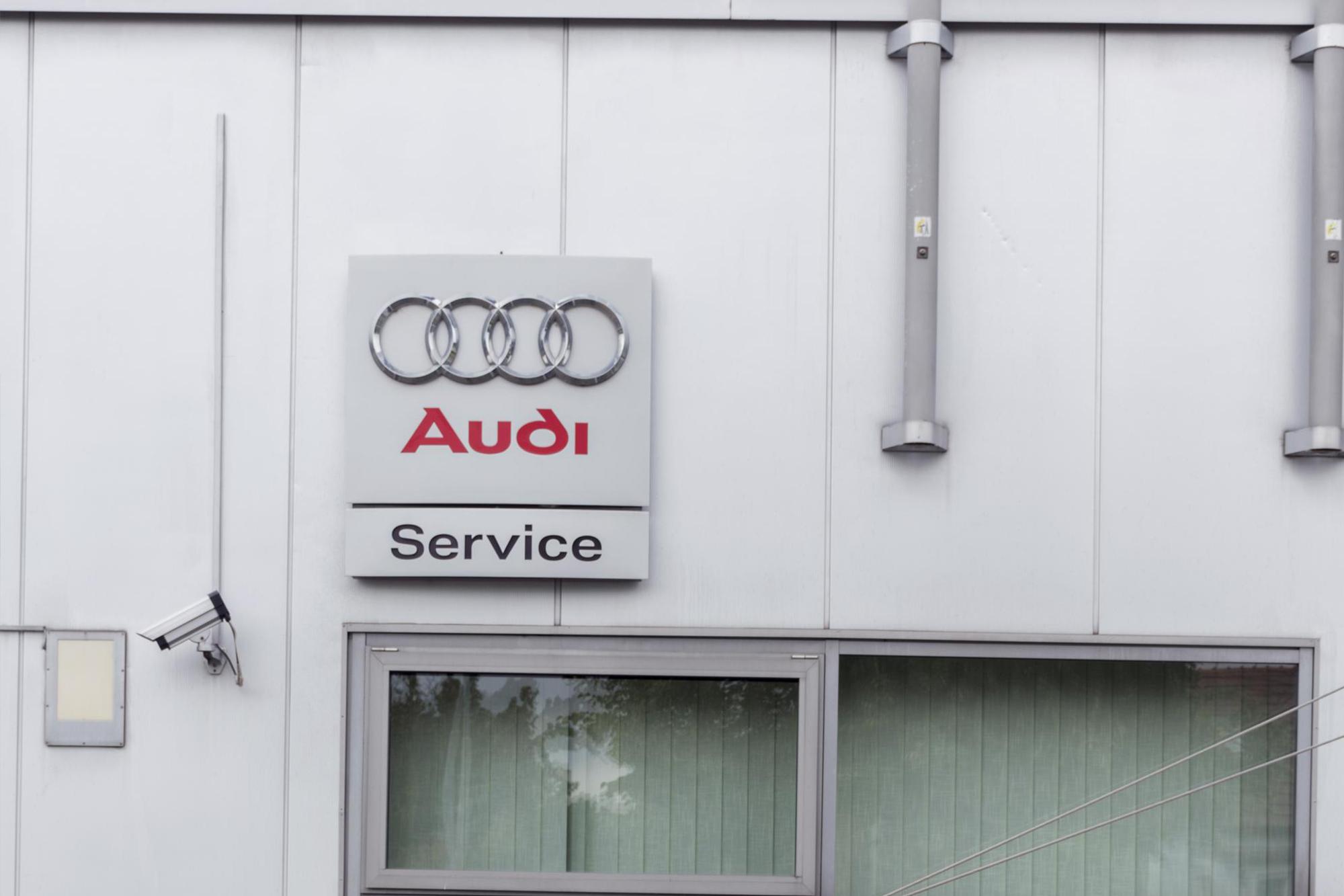 Servis vozů Audi
