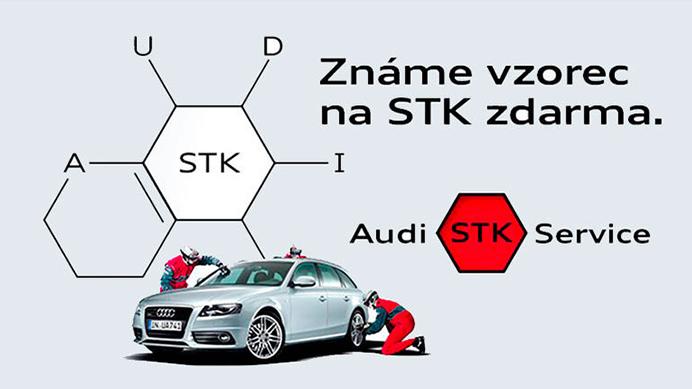 Audi STK Service Zdarma, rychle, bez starostí