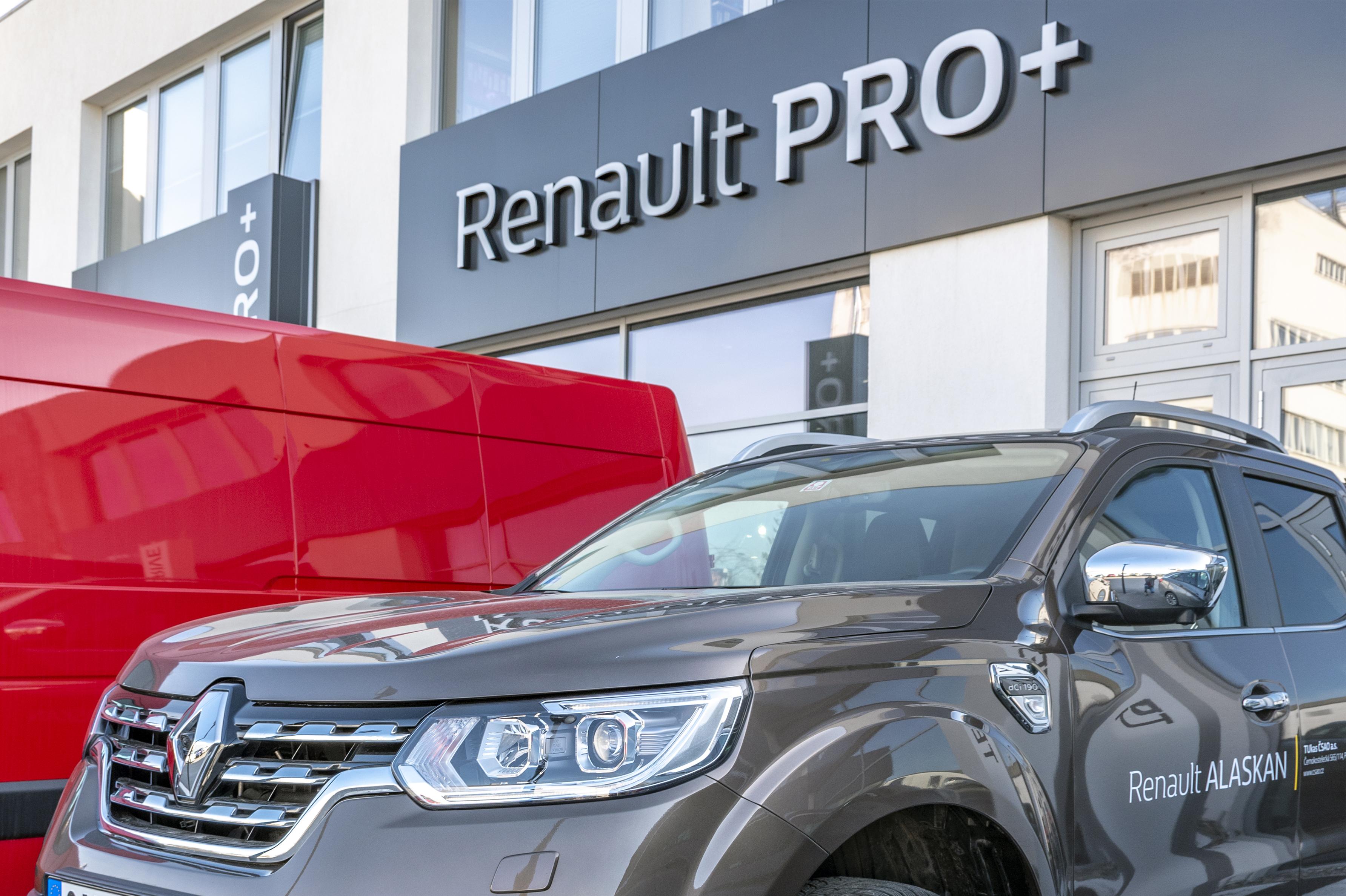 Prodejce užitkových vozů značky Renault