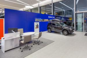 Prodejce vozů značky DACIA