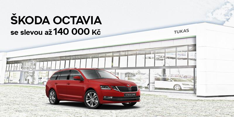 Akční nabídka skladových vozů ŠKODA OCTAVIA