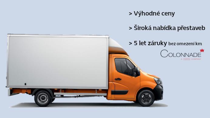 Užitkové vozy Renault PRO+