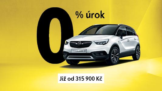 Opel Crossland X <br>Již s 0% navýšením!
