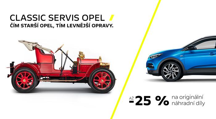 CLASSIC SERVIS OPEL <br>péče o starší vozy