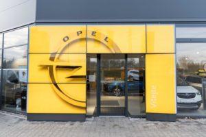 Skladník - Opel